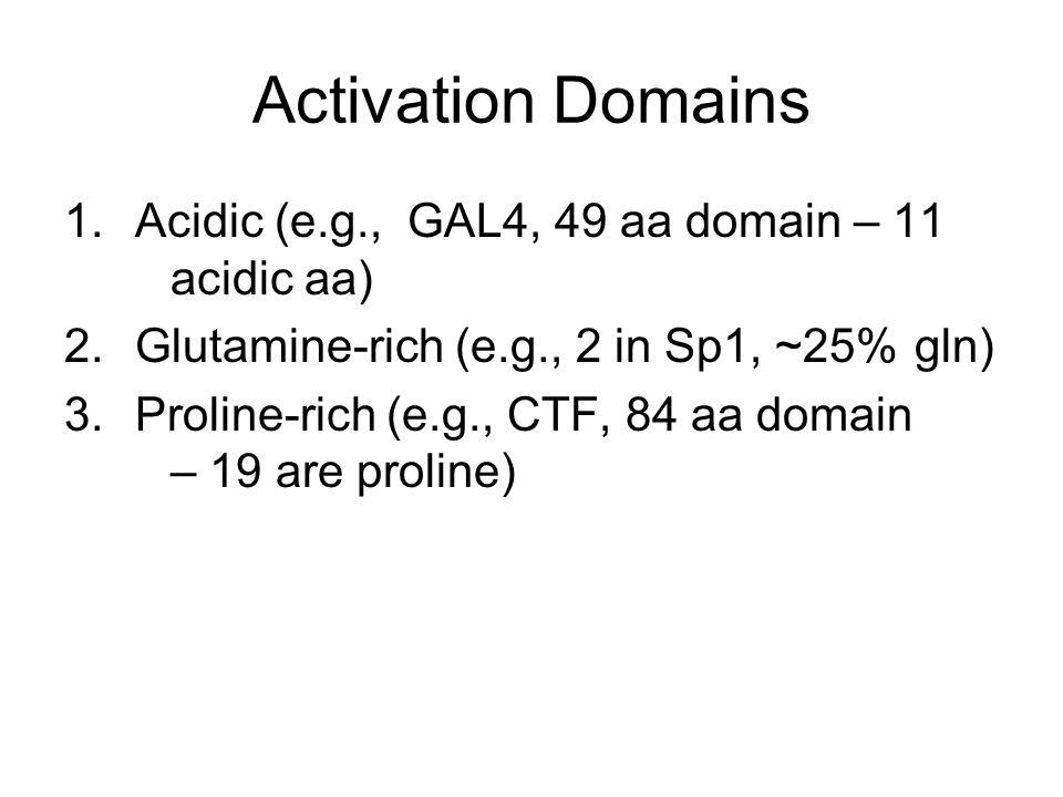 How do different trans-activation domains stimulates transcription? INITIATION VS ELONGATION