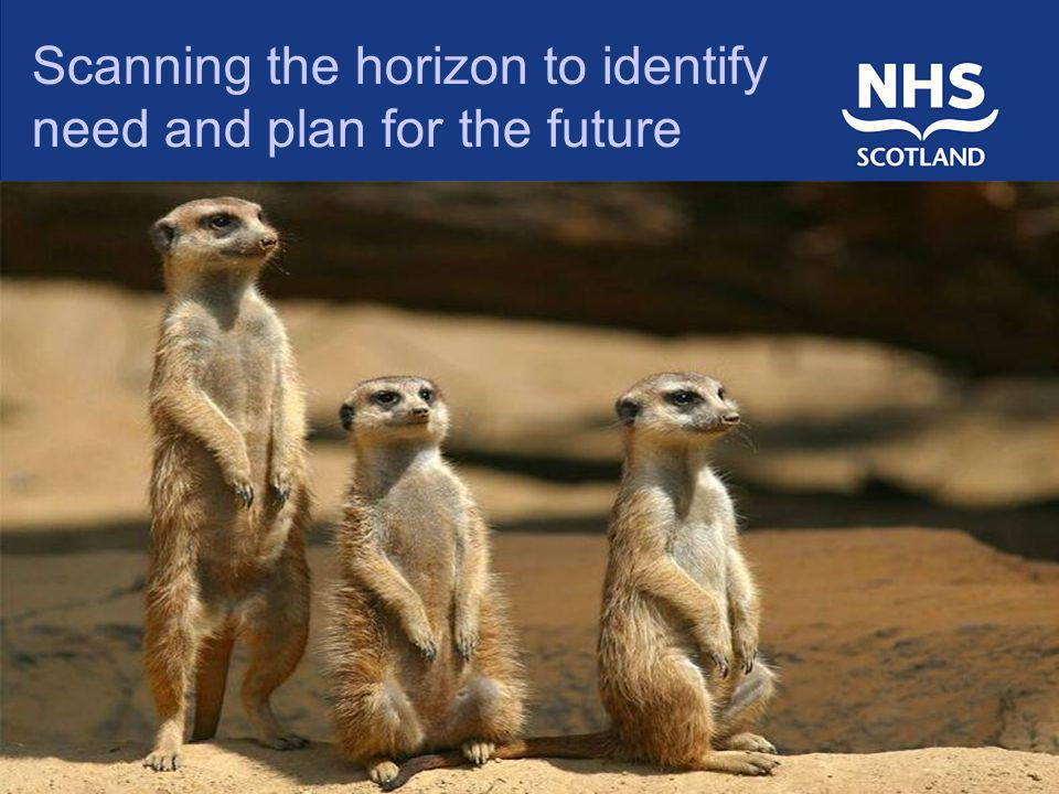 Scanning the horizon to identify need and plan for the future