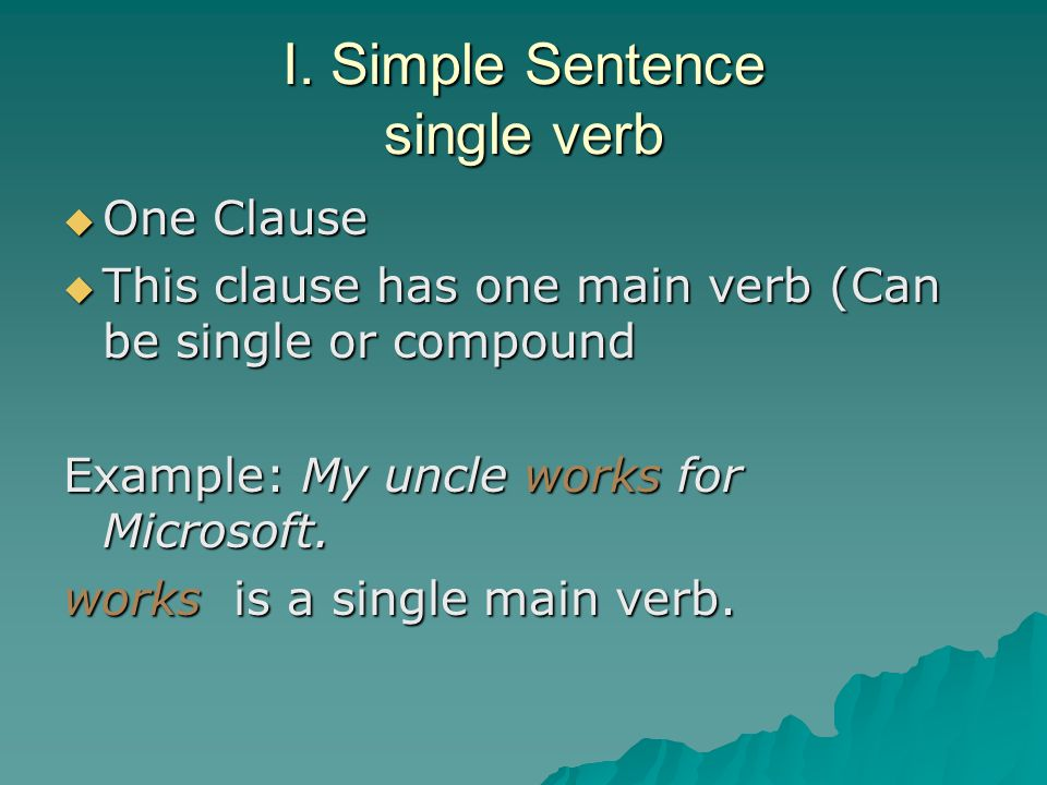 II.Complex Sentence Dependent Clause How do you think you can fix a fragment.