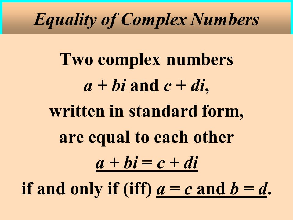 where c 1, c 2, …, c n are complex numbers and a n is leading coefficient of f(x).