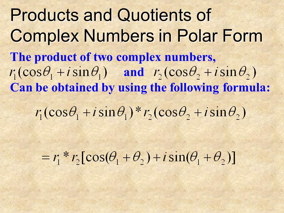 Expressing Complex Numbers in Polar Form Express the following complex number in polar form: 5i
