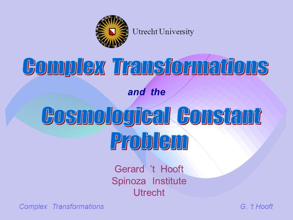 Complex TransformationsG.