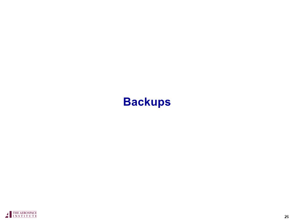 26 Backups