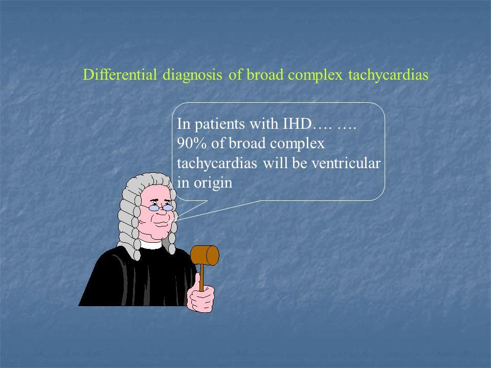 Differential diagnosis of broad complex tachycardias 100ms V1V6 Professor A.J Camm: A Master Class in The Differential Diagnosis of Broad Complex Tachycardias.