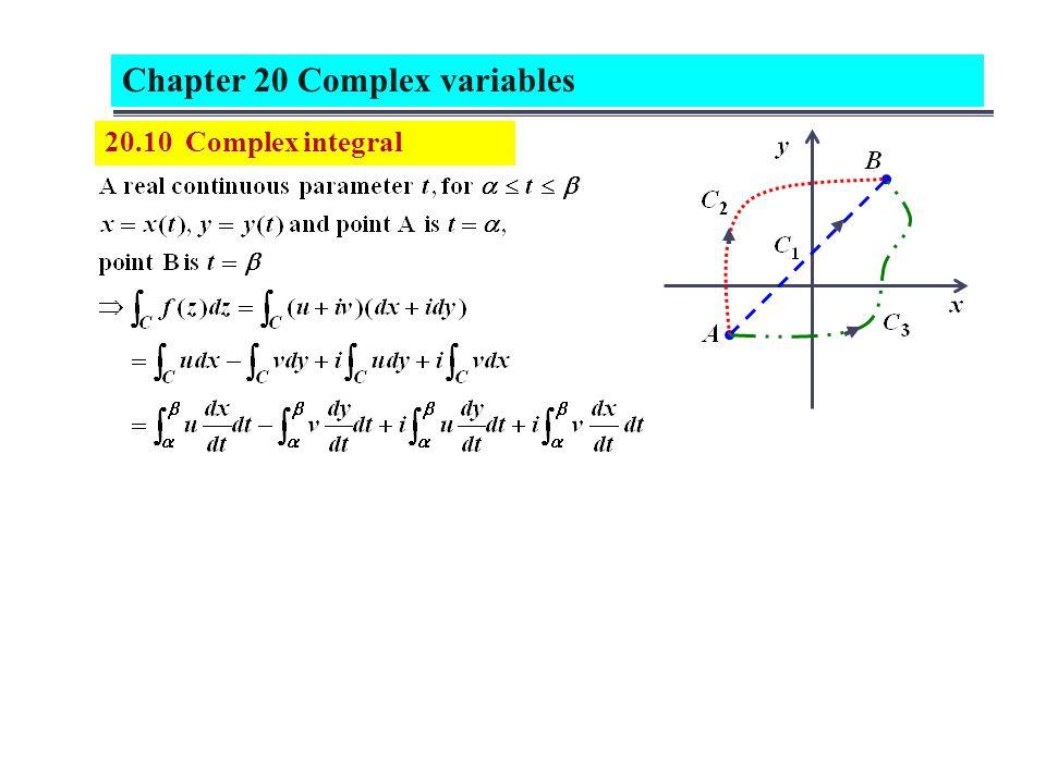 20.10 Complex integral