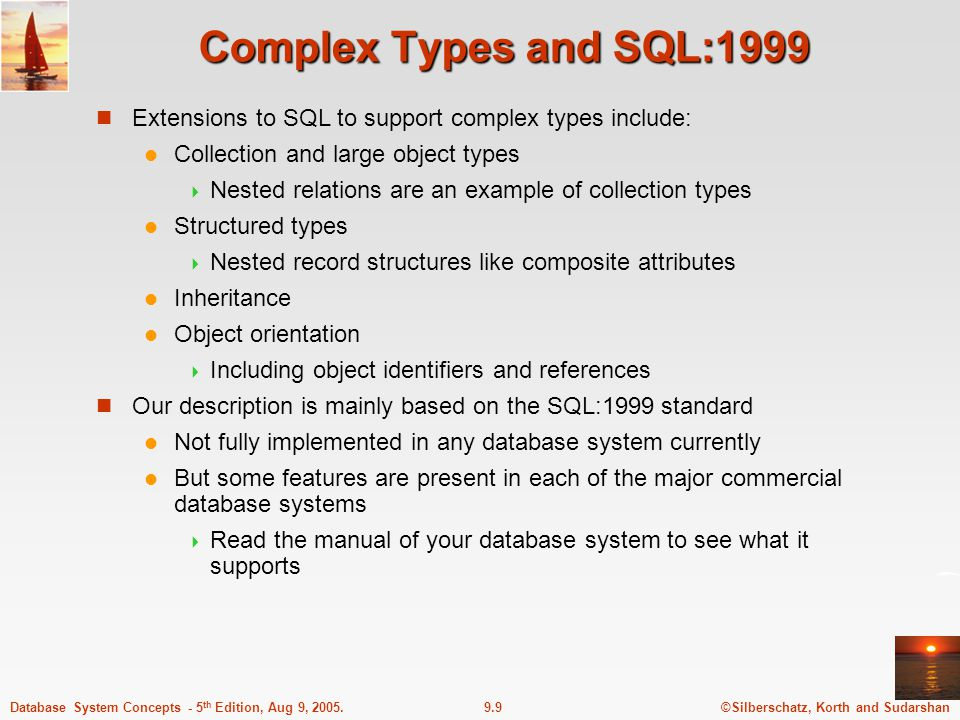 ©Silberschatz, Korth and Sudarshan9.20Database System Concepts - 5 th Edition, Aug 9, 2005.
