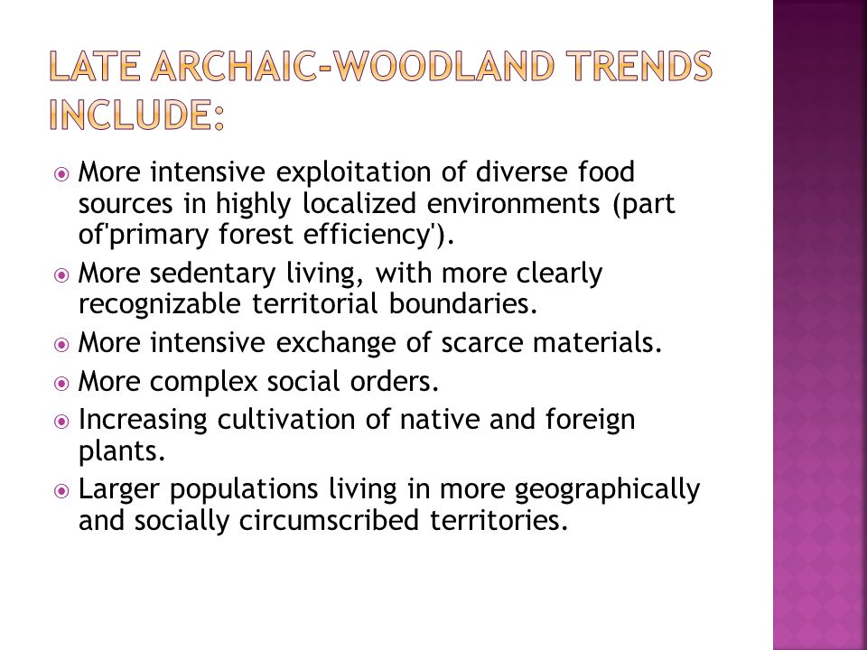 Population growth led to better defined and more circumscribed local territories.