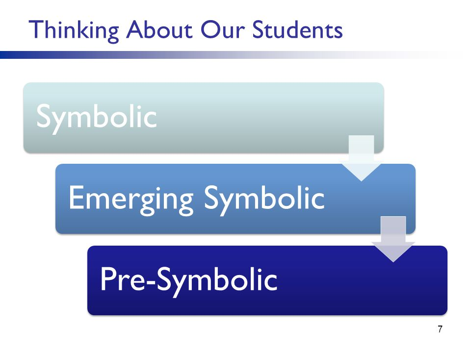 Thinking About Our Students 7