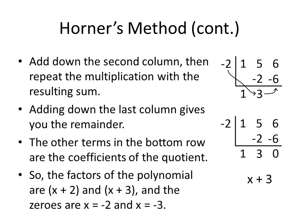 Basics of complex numbers
