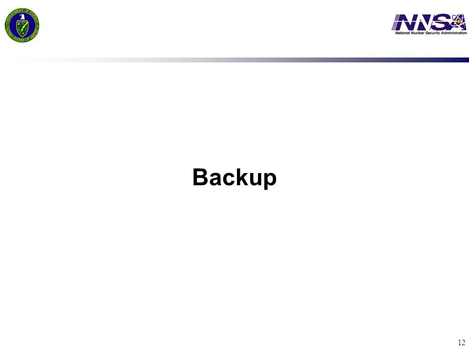 12 Backup