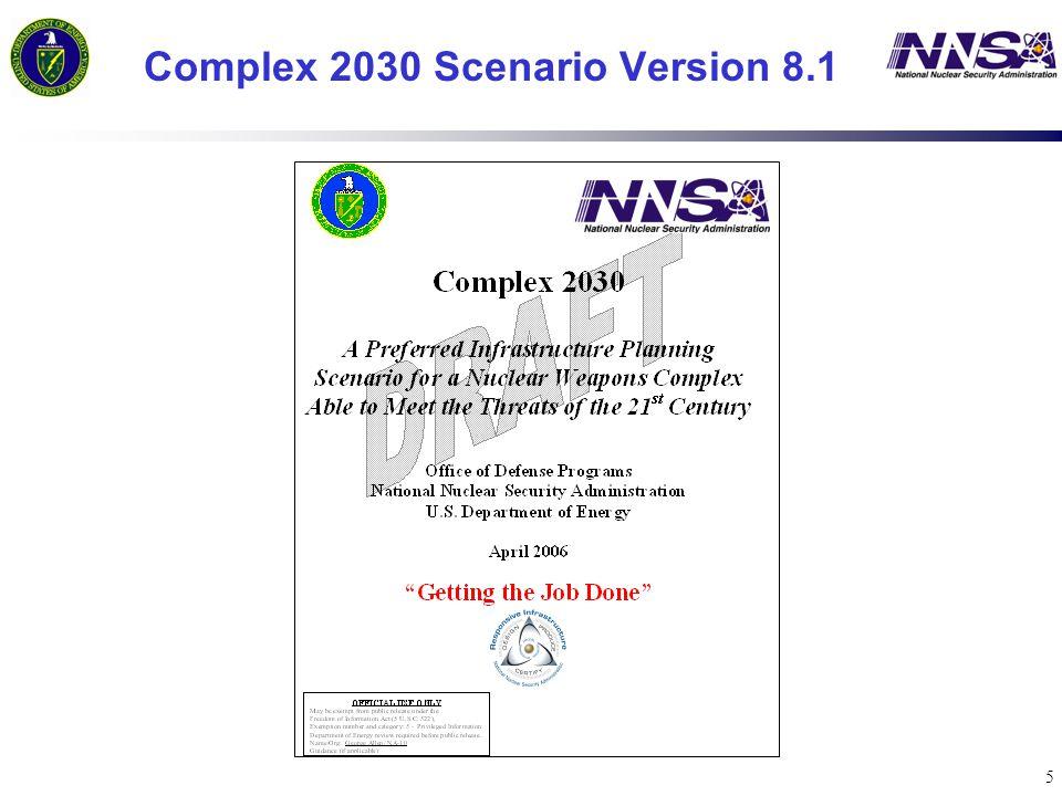 5 Complex 2030 Scenario Version 8.1