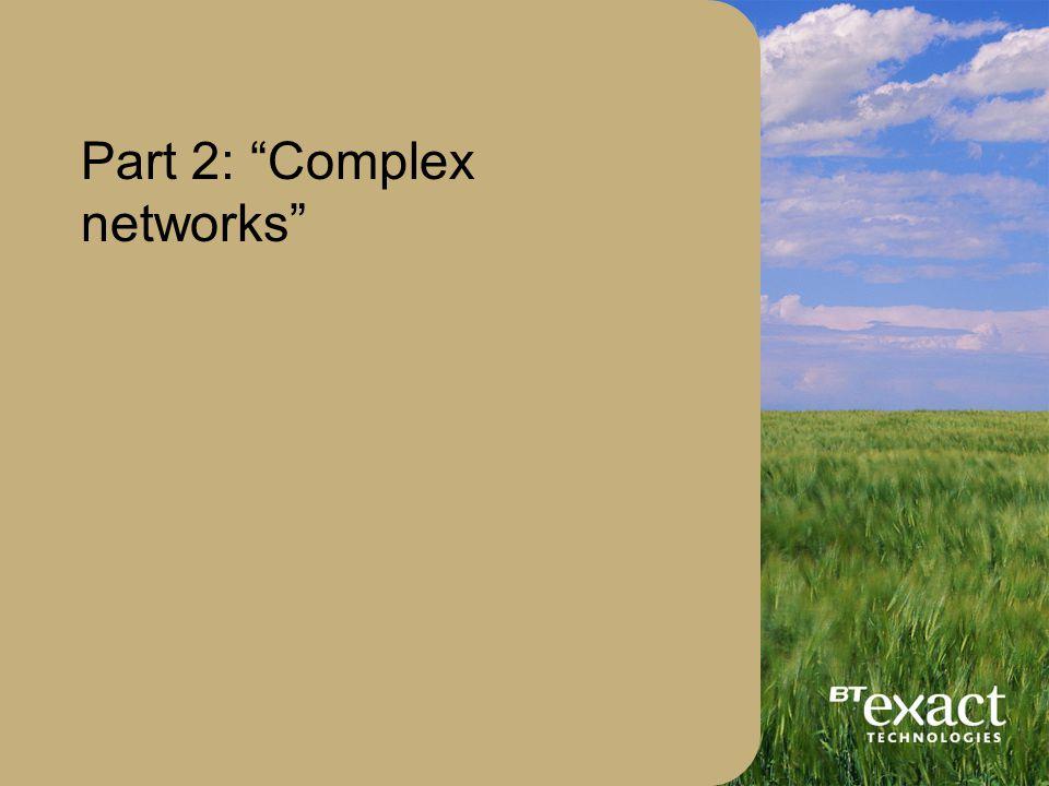 © British Telecommunications plc, 200236 Benchmark: the basic ring Best fit X c ~ 0.0035