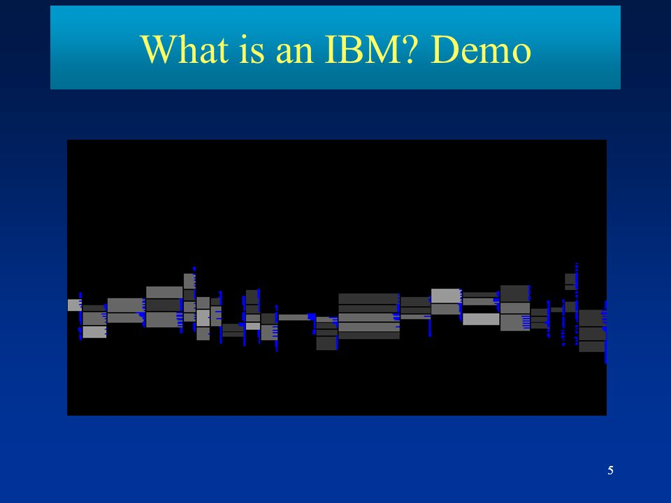 5 What is an IBM? Demo