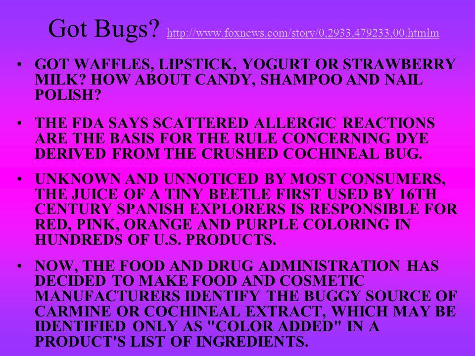 Got Bugs.
