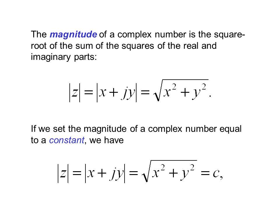 x = Re{z} y = Im{z} x=1x=2x=3x=4 y=1 y=2 y=3 y=4