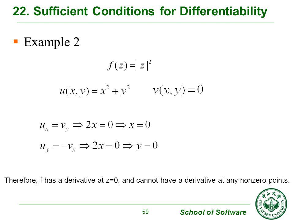 School of Software Example 2 22.