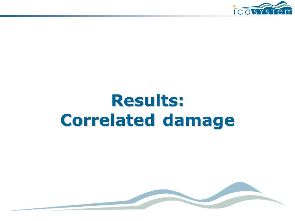 Results: Correlated damage