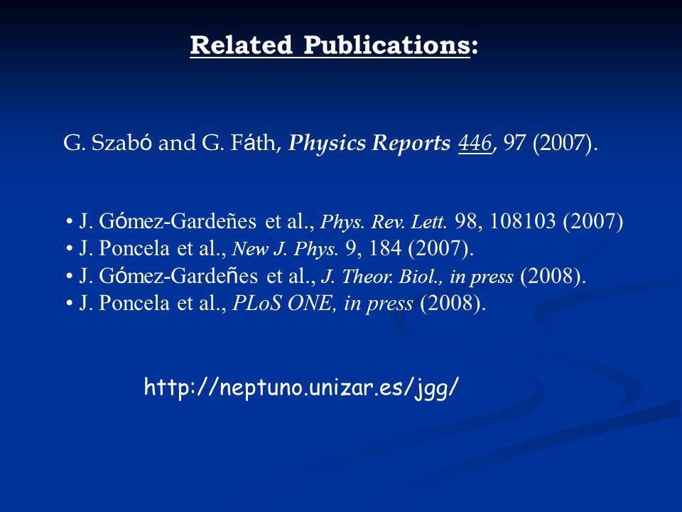http://neptuno.unizar.es/jgg/ Related Publications: J.