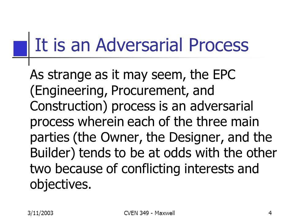 3/11/2003CVEN 349 - Maxwell14 Designer Contd.