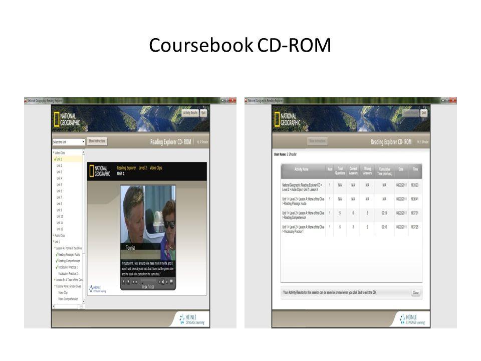 Coursebook CD-ROM
