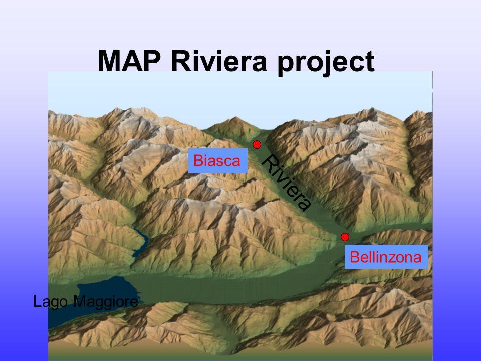 Bellinzona Biasca Riviera MAP Riviera project Lago Maggiore