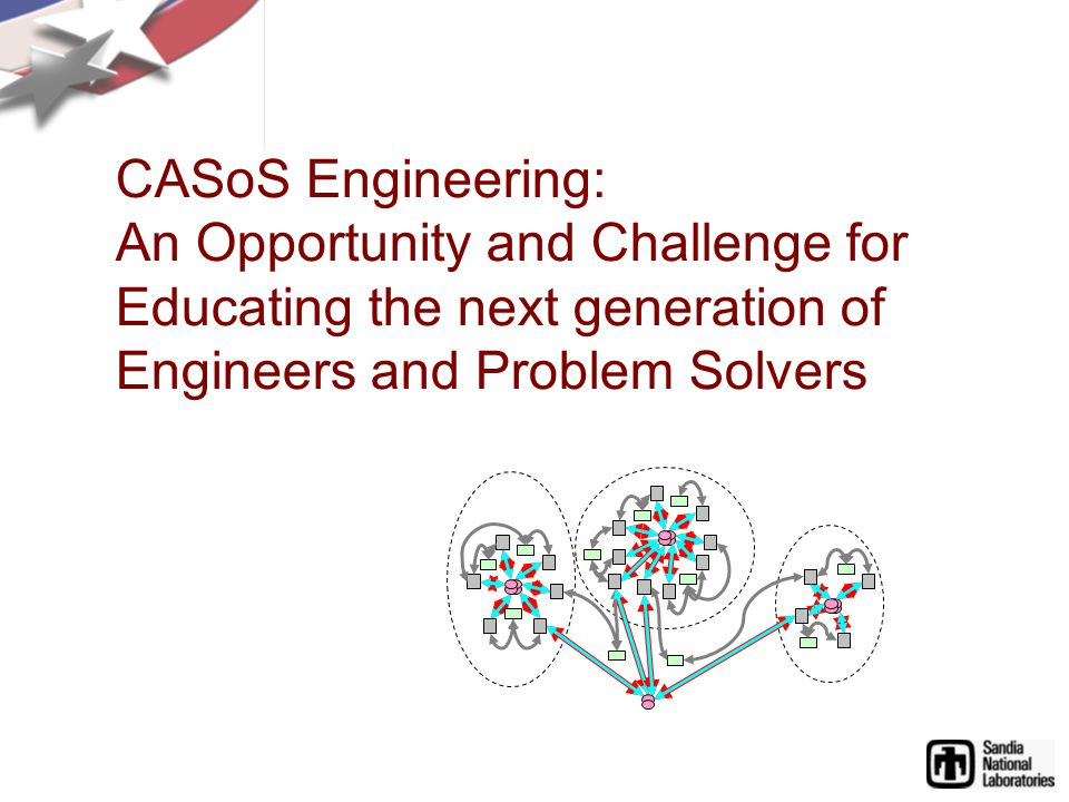 CASoS Engineering: An Opportunity and Challenge for Educating the next generation of Engineers and Problem Solvers