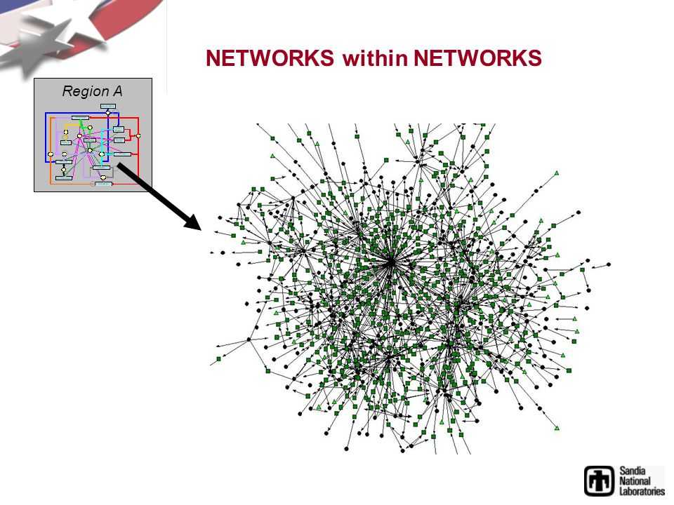 NETWORKS within NETWORKS Region A