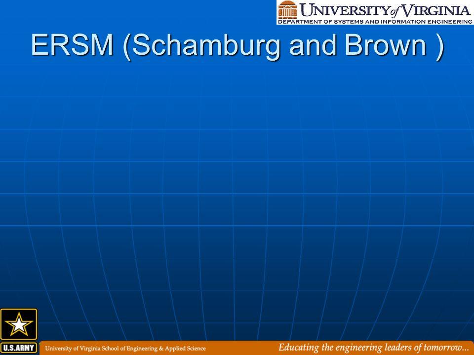ERSM (Schamburg and Brown )