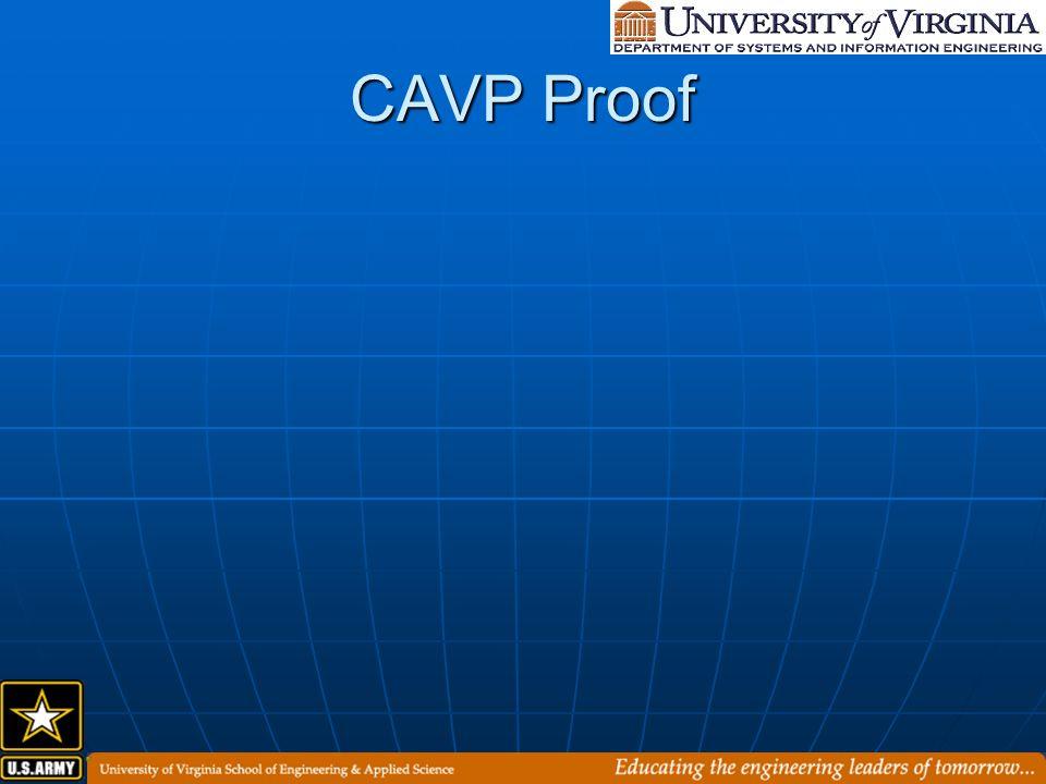 CAVP Proof