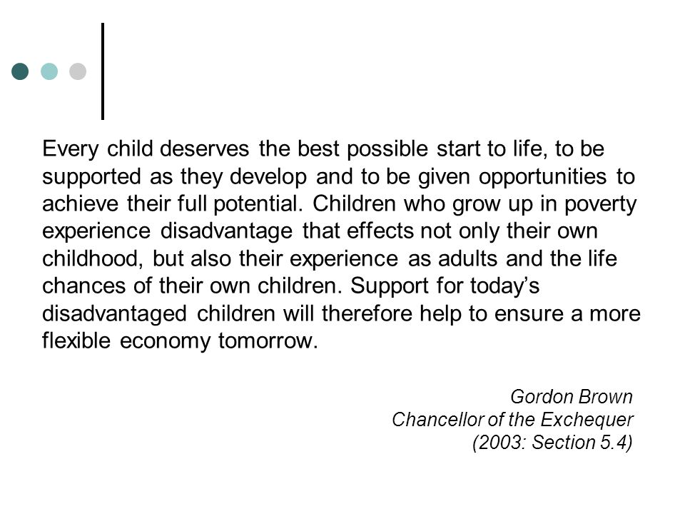 The Effects of Adversity At any one time, children in public care make up about 0.5 per cent of all children.