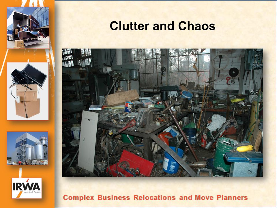 Clutter and Chaos Complex Business Relocations and Move PlannersComplex Business Relocations and Move Planners