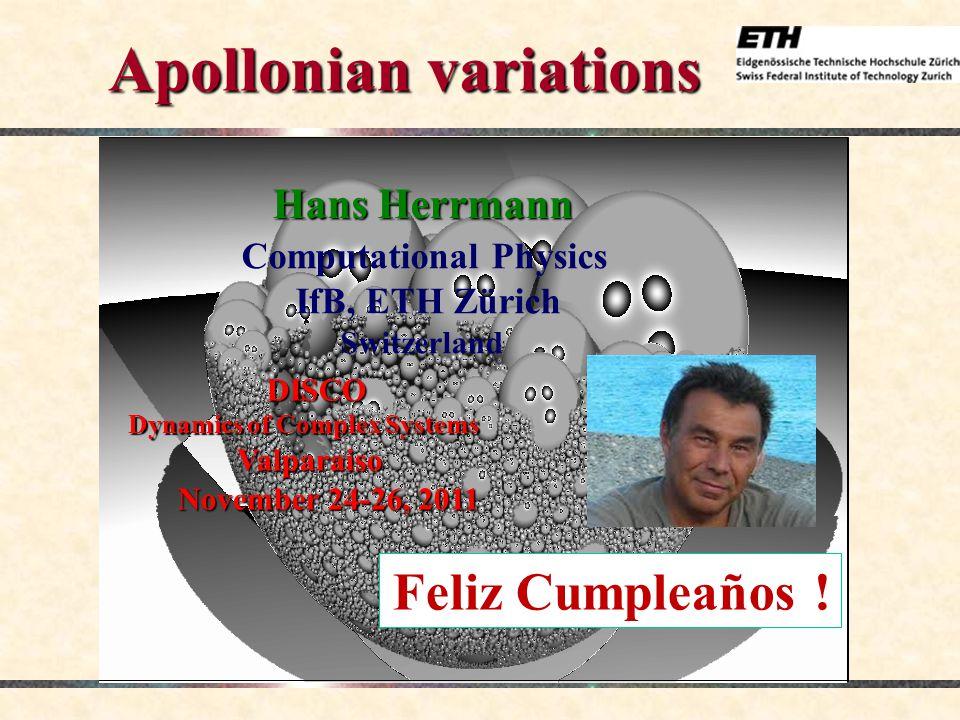 DISCO: Dynamics of Complex Systems, Valparaiso, November 24-26, 2011 32 Second family n = 4, m = 1