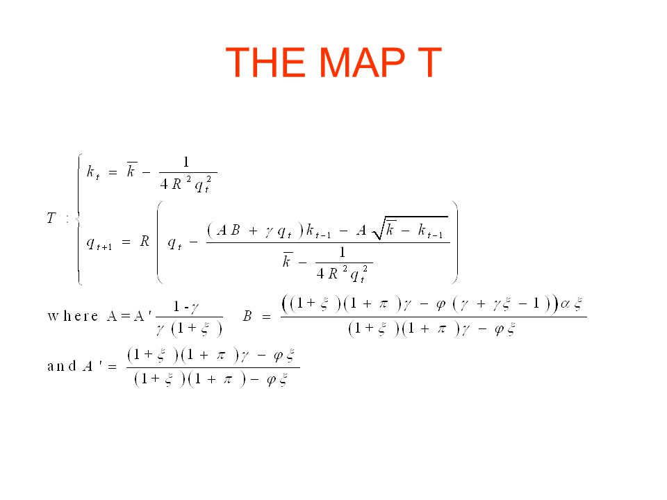 THE MAP T