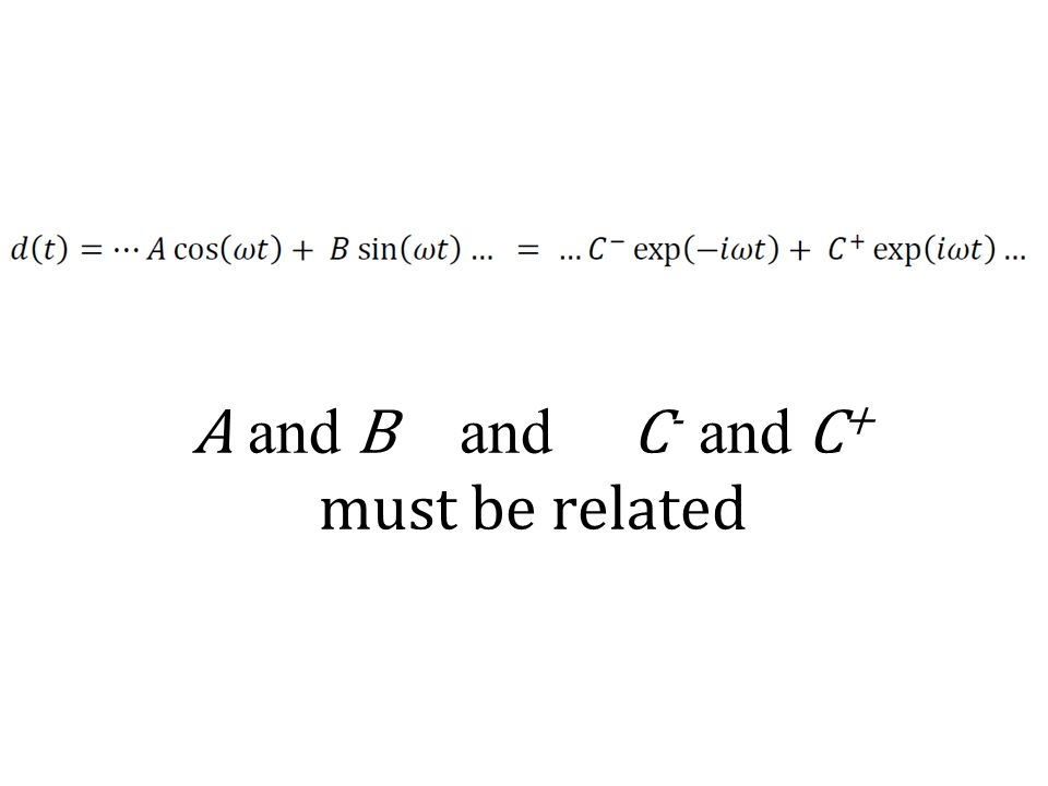 A and B and C - and C + must be related