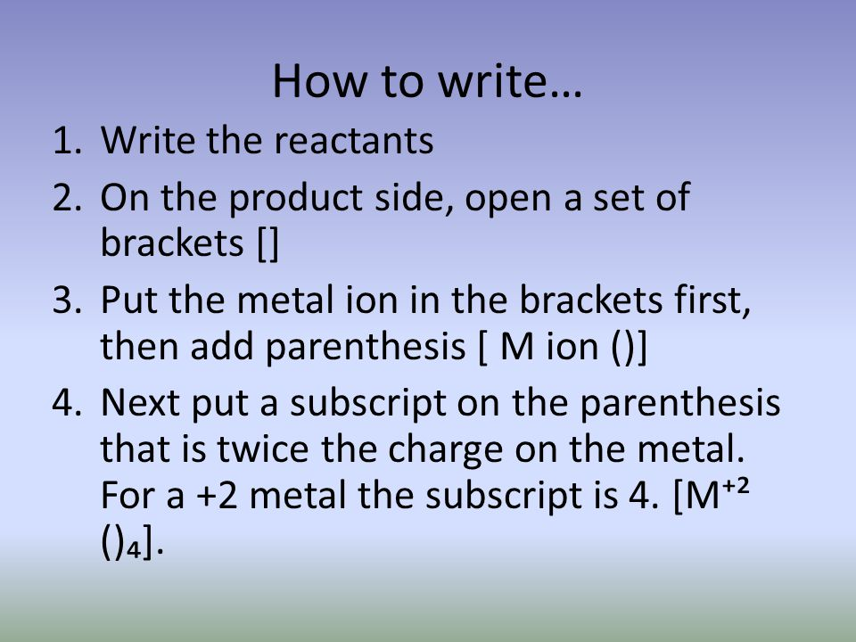 How to write cont.5.