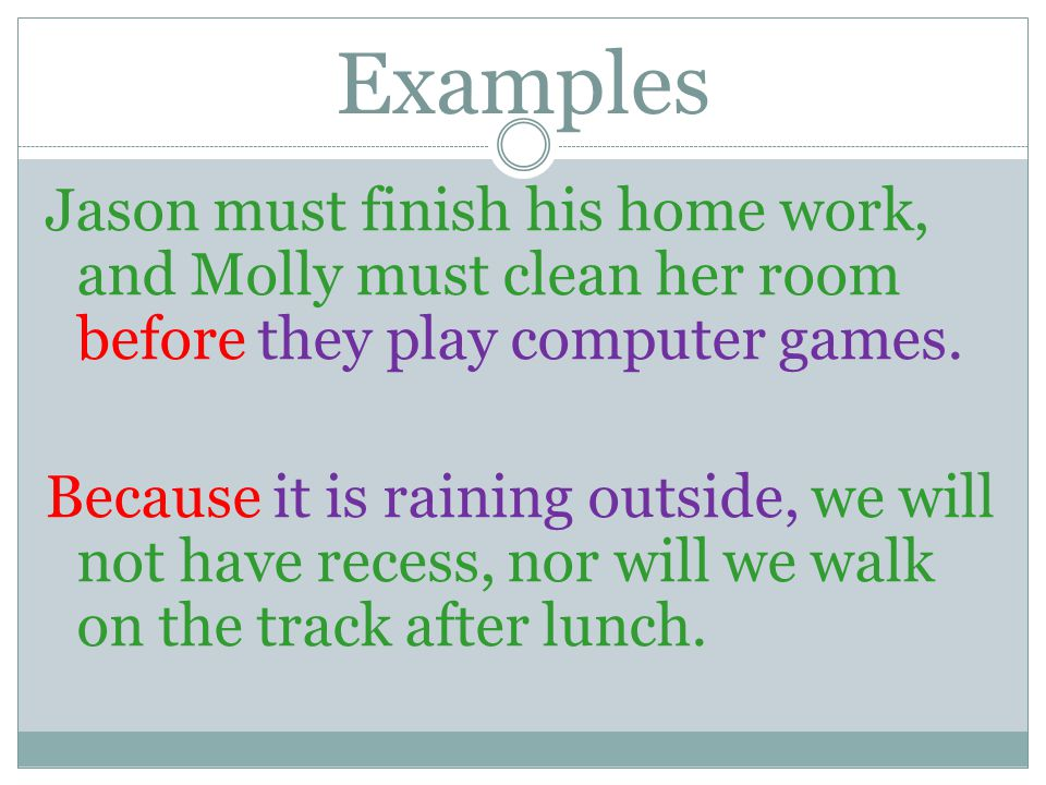 SENTENCES CONTAINING MORE THAN ONE INDEPENDENT CLAUSE AND ONE OR MORE DEPENDENT (SUBORDINATE) CLAUSE.