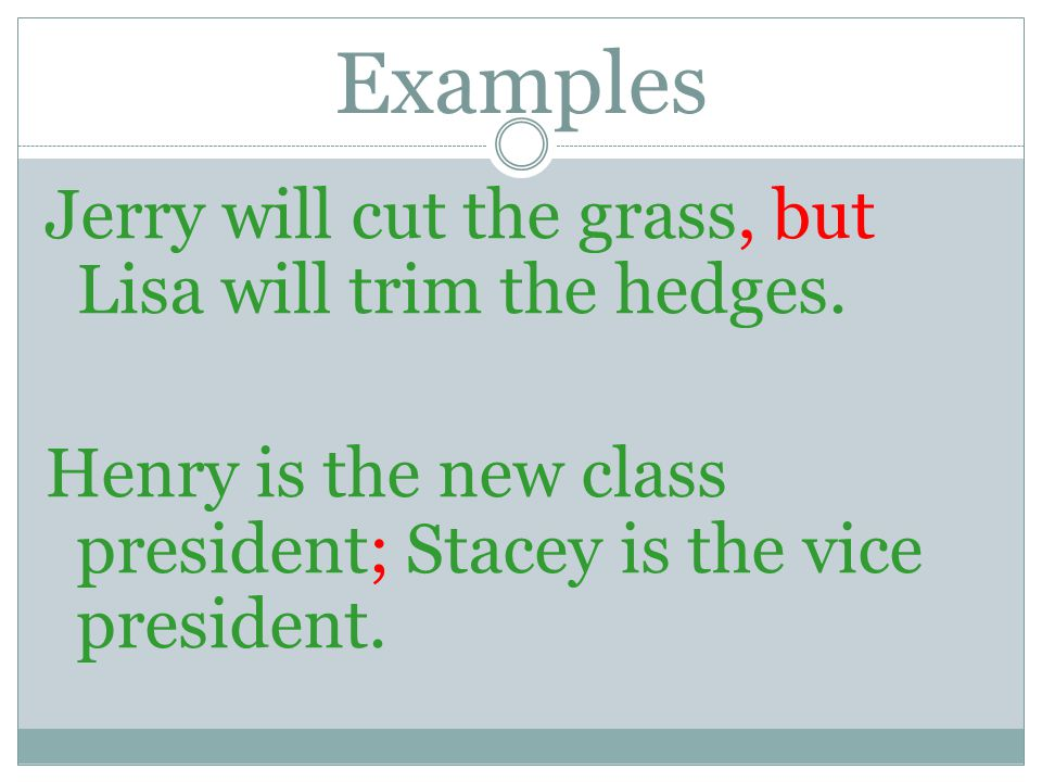 COMPOUND SENTENCES CONTAIN TWO OR MORE INDEPENDENT CLAUSES.