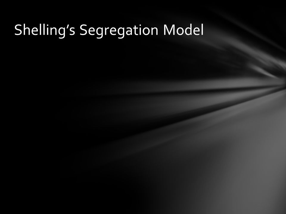 Shellings Segregation Model