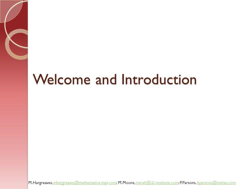 M.Hargreaves, mhargreaves@mathematica-mpr.com; M.Moore, marah@i2i-institute.com; P.Parsons, bparsons@insites.commhargreaves@mathematica-mpr.commarah@i2i-institute.combparsons@insites.com Example: City Integration Initiative 33