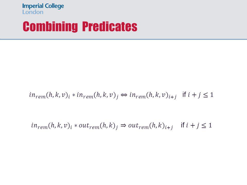 Combining Predicates