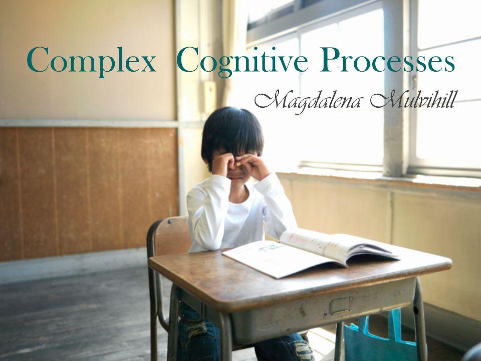 Complex Cognitive Processes Magdalena Mulvihill