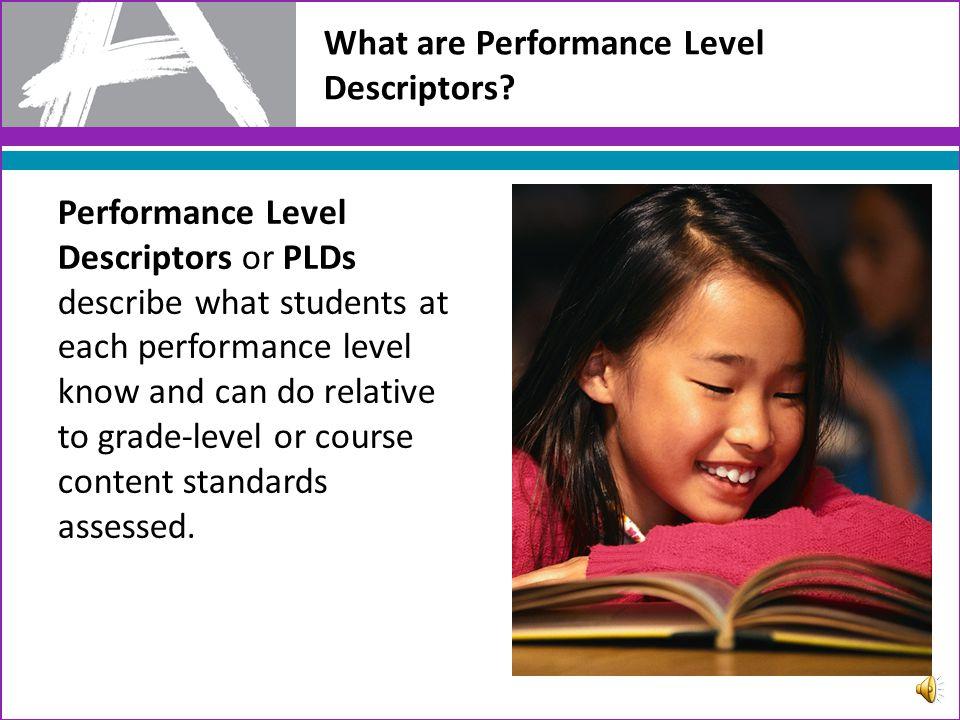 New Approach to Designing Performance Level Descriptors: PARCC ELA/Literacy Summative Assessment
