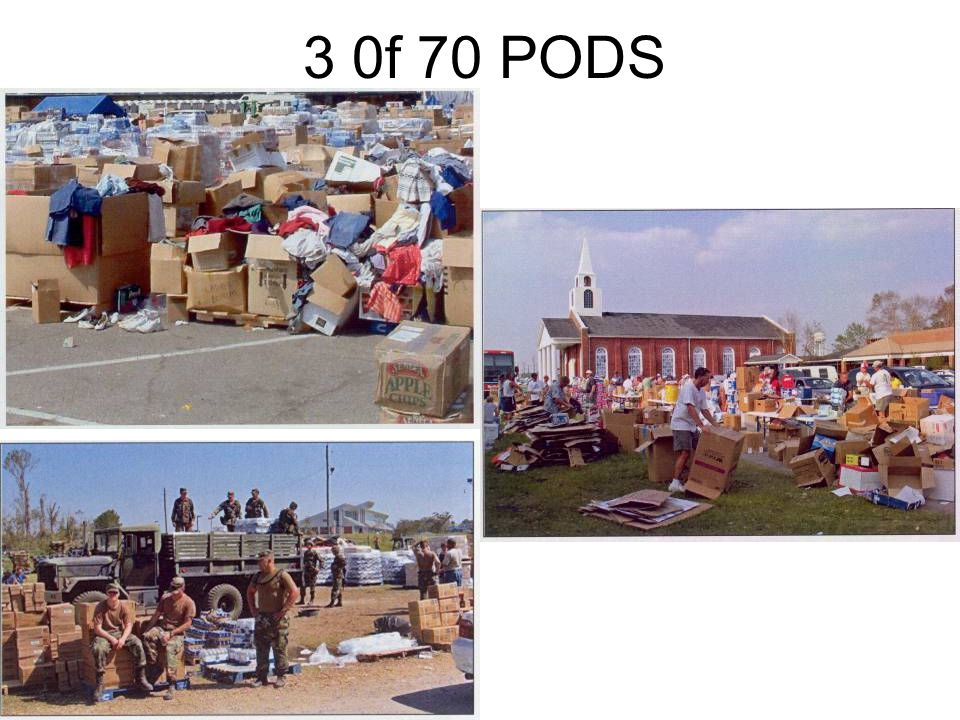 3 0f 70 PODS