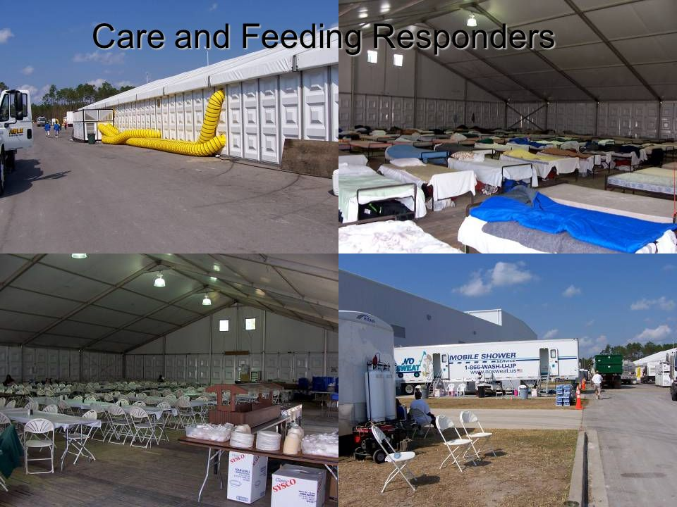 Care and Feeding Responders