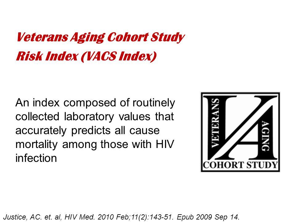 Veterans Aging Cohort Study Risk Index (VACS Index) Justice, AC.