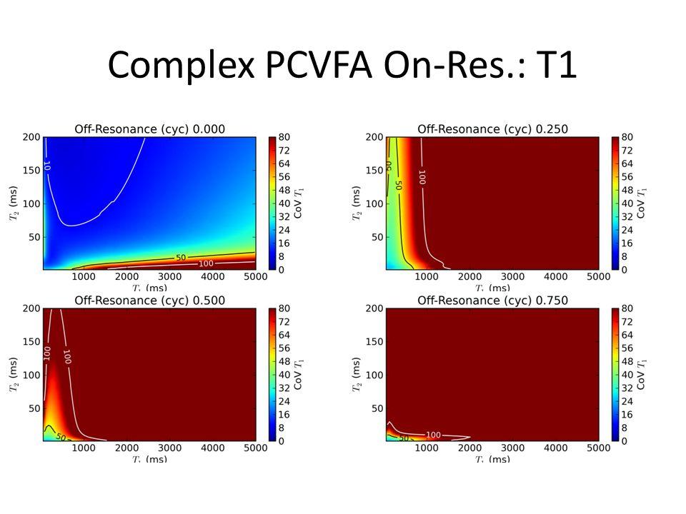 Complex PCVFA On-Res.: T1