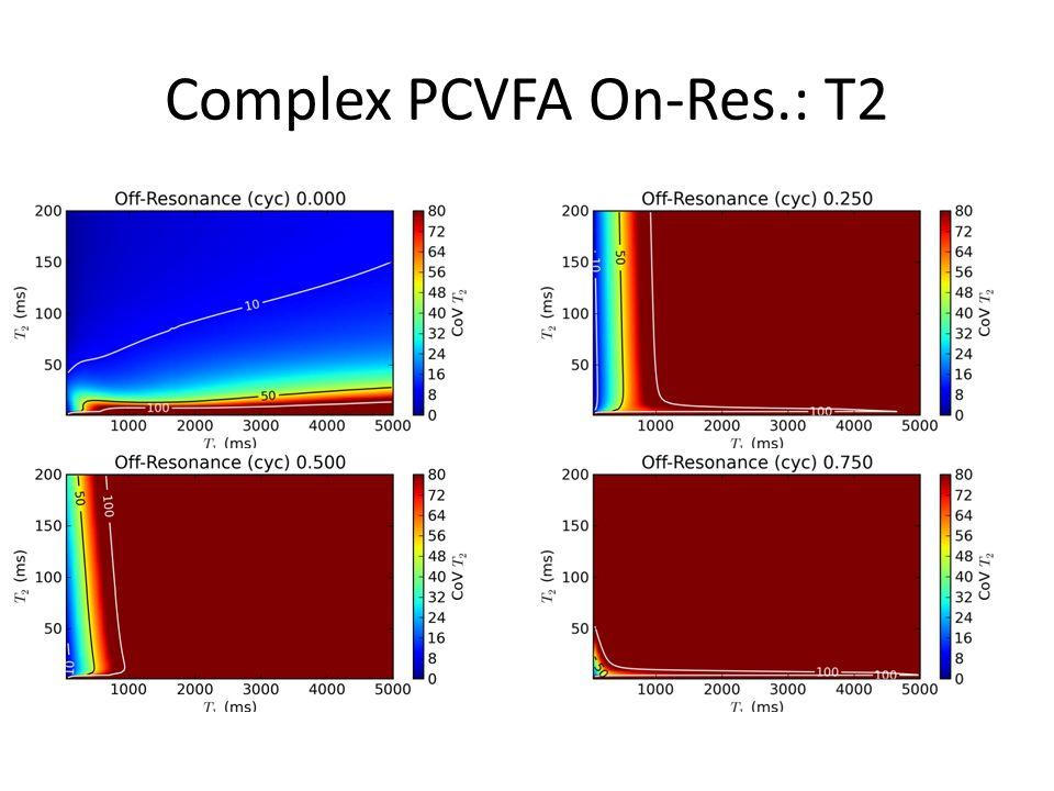 Complex PCVFA On-Res.: T2