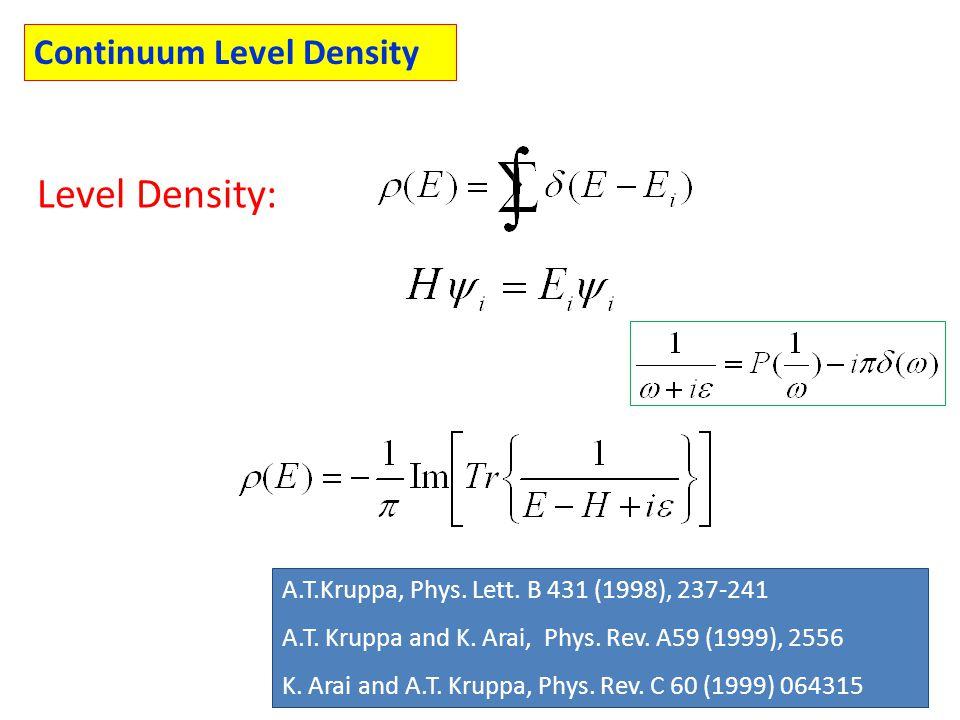 A.T.Kruppa, Phys. Lett. B 431 (1998), 237-241 A.T.