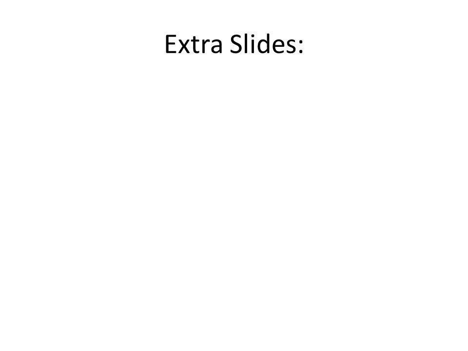 Extra Slides:
