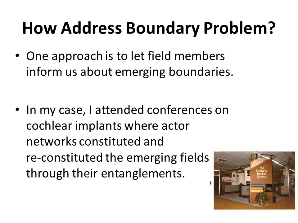How Address Boundary Problem.